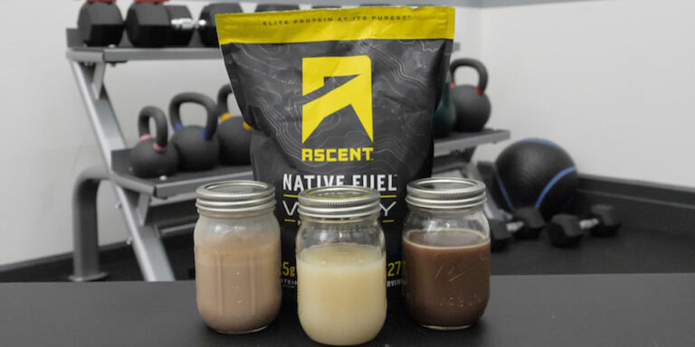 Ascent Protein Review (Whey Protein Powder)
