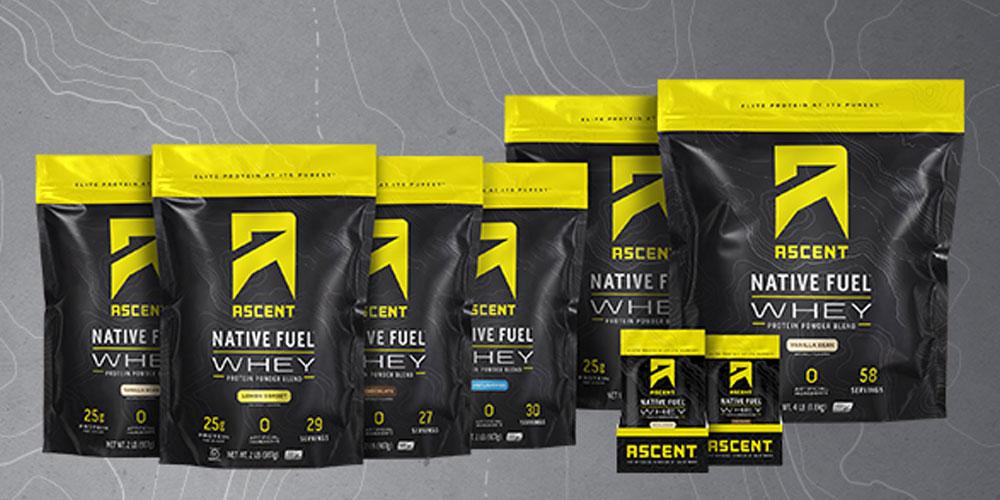 Ascent Whey Protein Powder