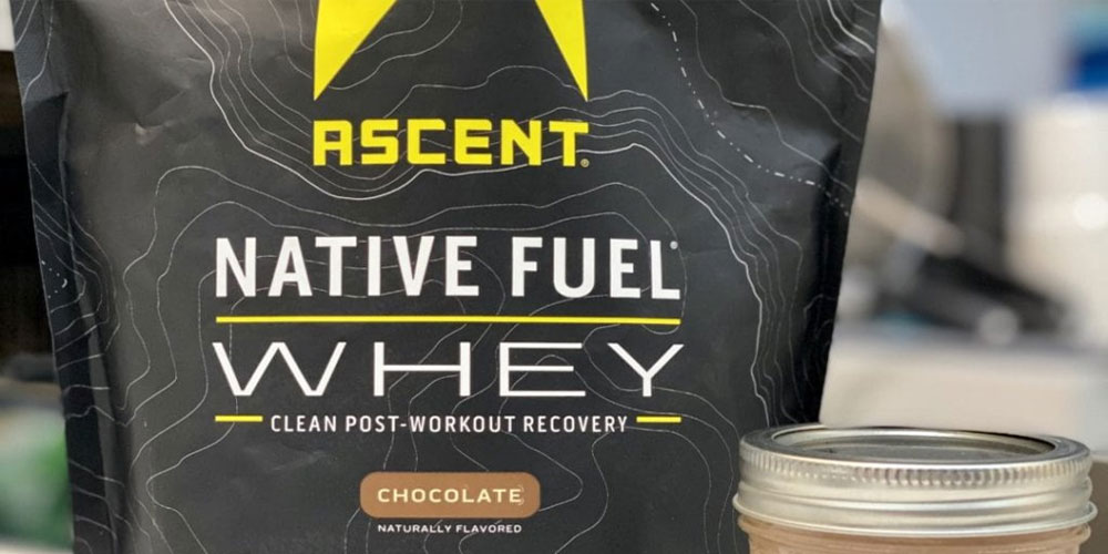 ascent native fuel whey protein powder