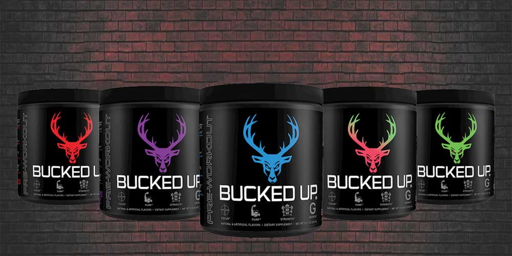 Bucked Up Pre-workout Flavors