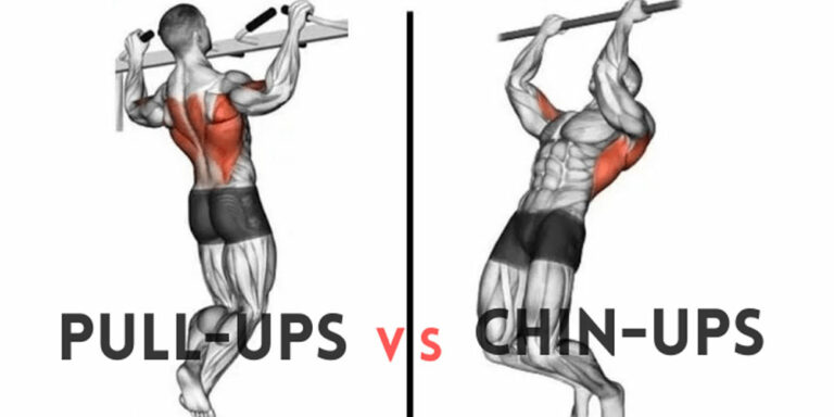 Pull-ups Vs Chin-ups Vs Curls for Biceps Growth