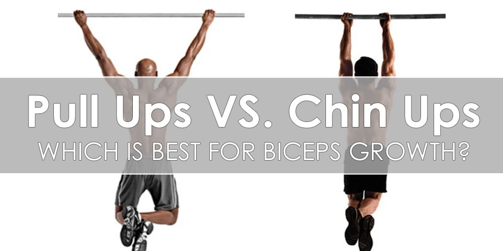 Pull-Ups Vs. Chin-Ups for Biceps Growth