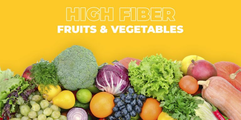 The 10 Best High Fiber Fruits and Vegetables