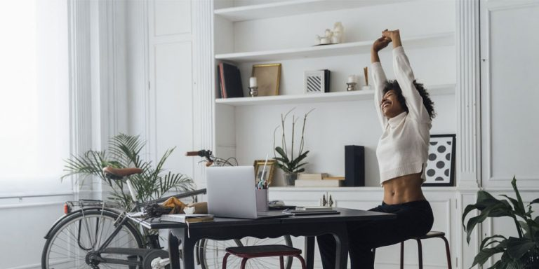 13 Best Office Exercises to Do at Work